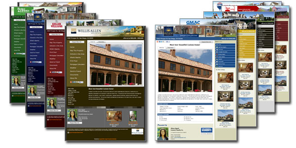 single property website templates