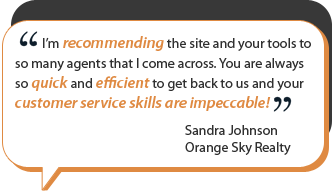 real estate website testimonial 3